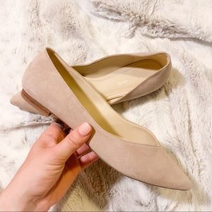 Marc Fisher Suede Pointed Flat
